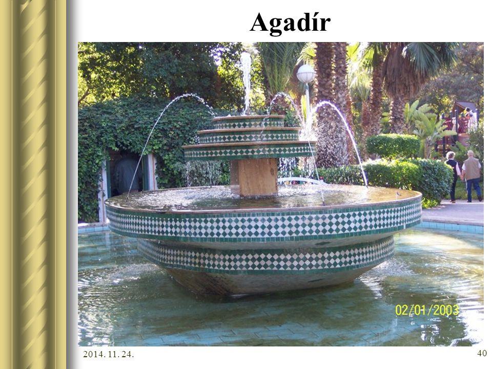 2014. 11. 24. 39 Agadír