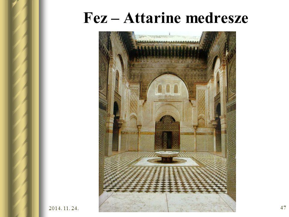 2014. 11. 24. 46 Fez – Királyi palota