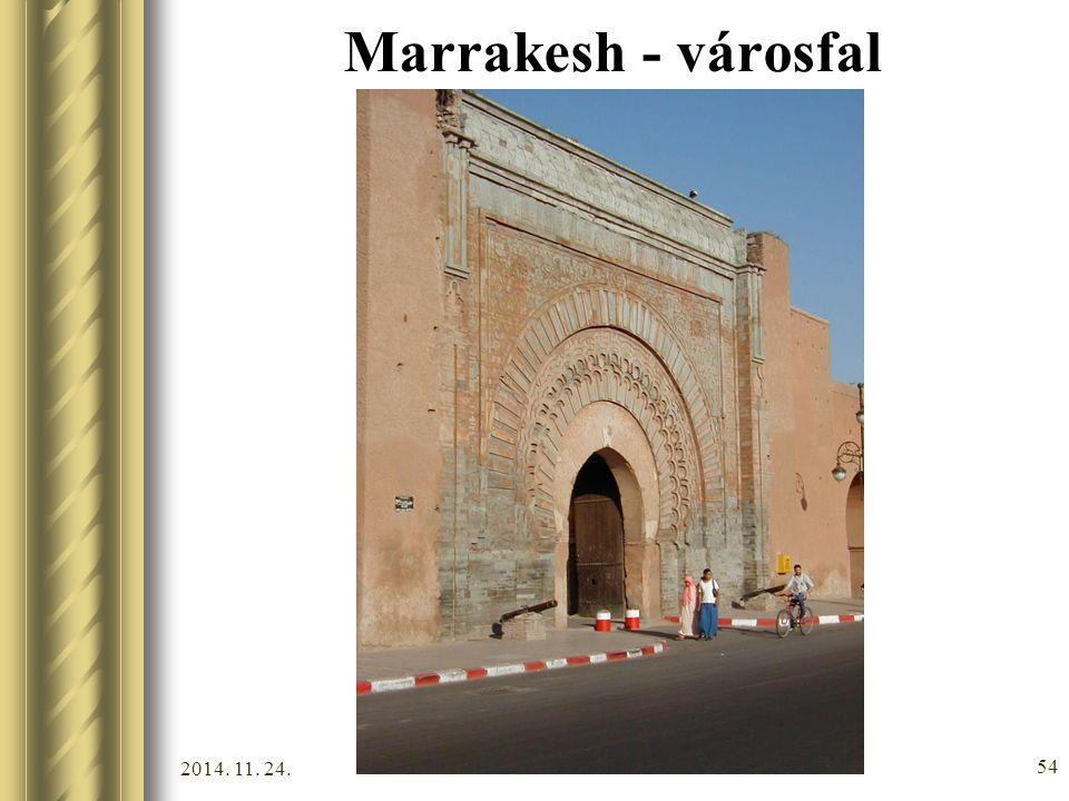 2014. 11. 24. 53 Marrakesh - városfal