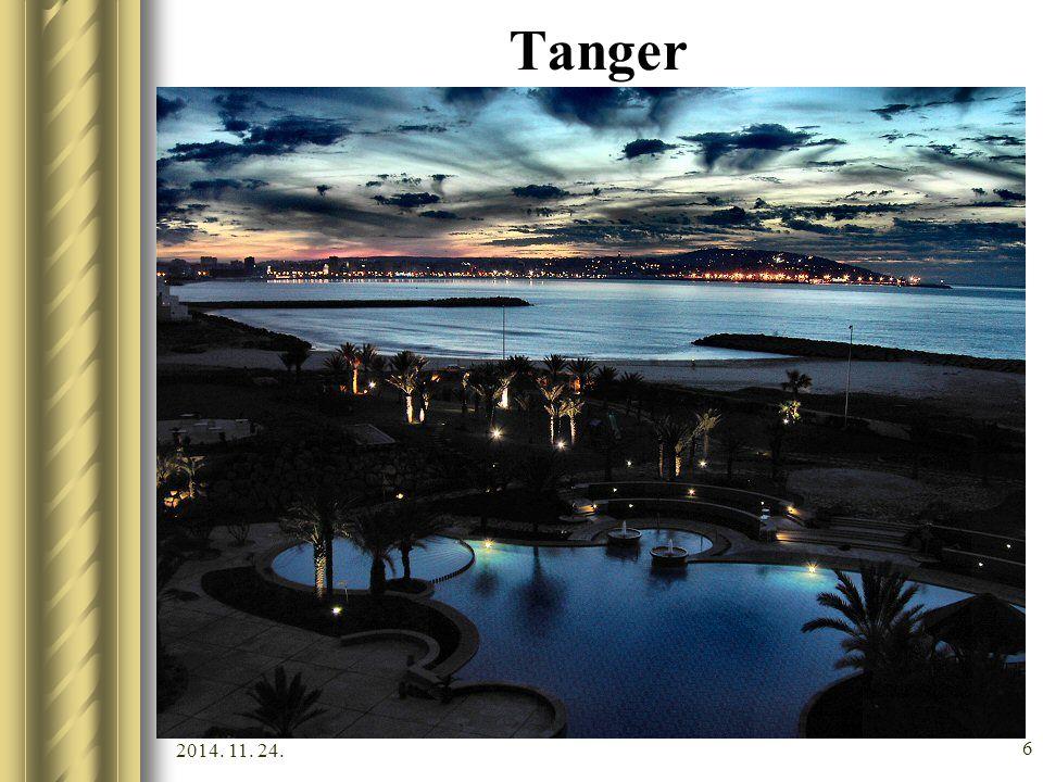 2014. 11. 24. 5 Tanger