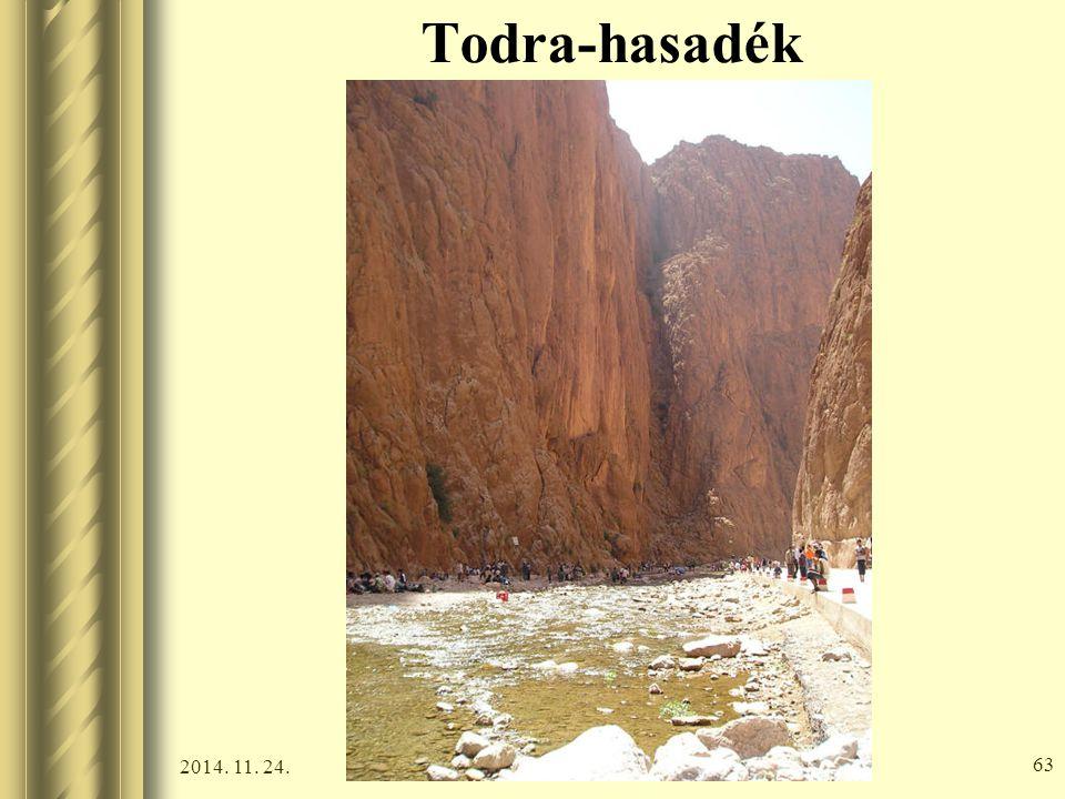 2014. 11. 24. 62 Todra-hasadék