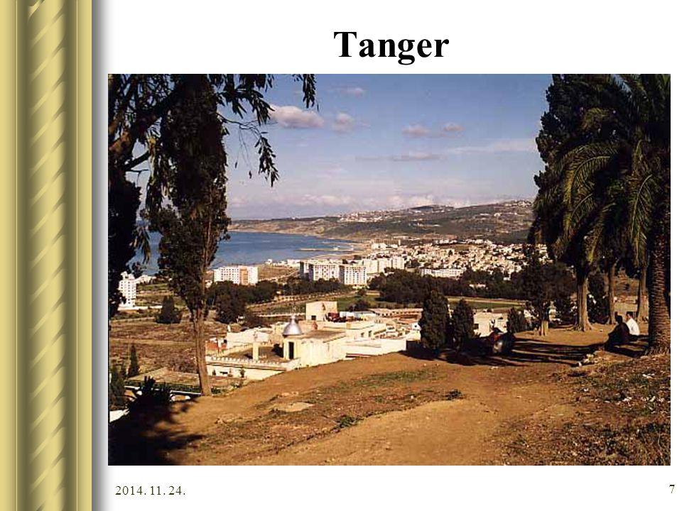 2014. 11. 24. 6 Tanger