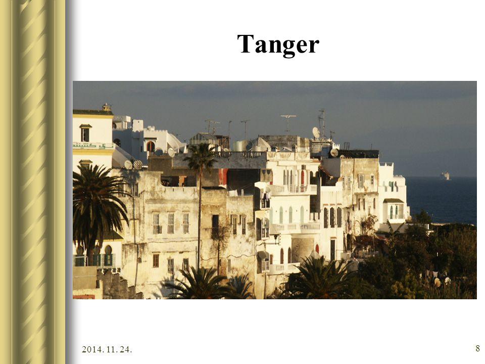 2014. 11. 24. 7 Tanger