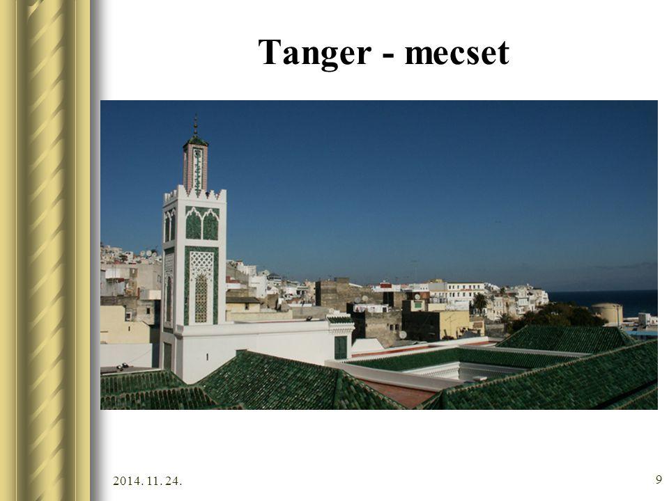 2014. 11. 24. 8 Tanger