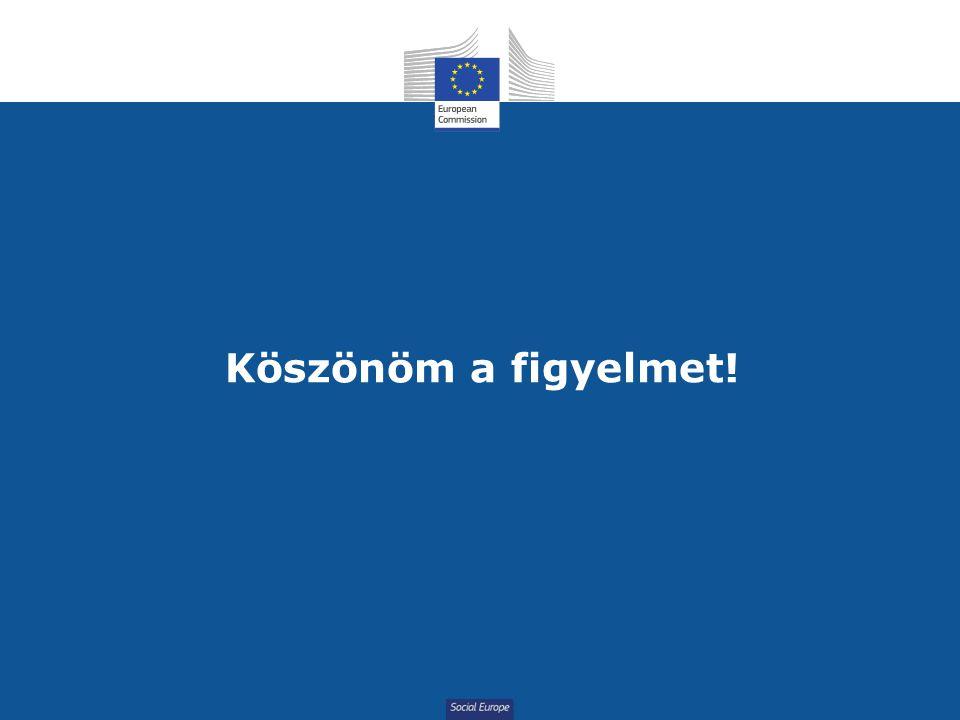 Social Europe Köszönöm a figyelmet!