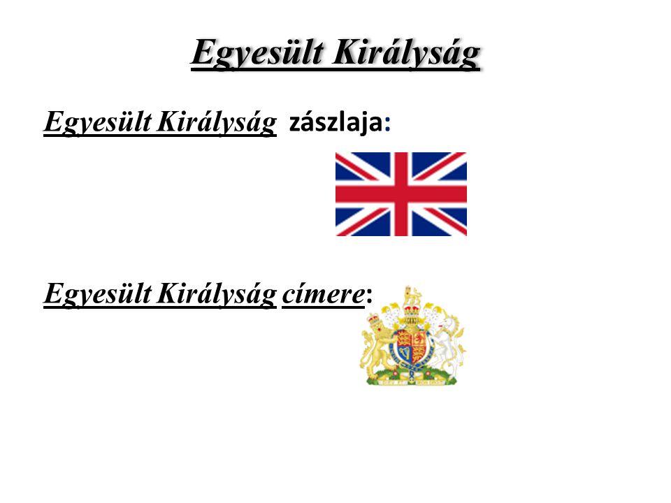 Egyesült Királyság Egyesült Királyság zászlaja: Egyesült Királyság címere :