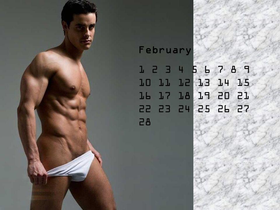 Eddig a hölgyek kalendáriumát látták, és most következik a férfiaké...