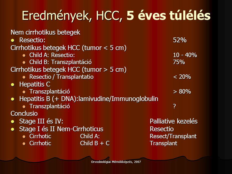 Orvosbiológiai Mérnökképzés, 2007 RFA Kritikus hypertermia Kritikus hypertermia 37 C testhőmérséklet 37 C testhőmérséklet 42 C minimális effektív hőmérséklet (tumordestrukció kezdete) 42 C minimális effektív hőmérséklet (tumordestrukció kezdete) 58 C fehérje denaturáció 58 C fehérje denaturáció 100 C intracellularis víz vaporizáció 100 C intracellularis víz vaporizáció >100 C intra-extracellularis vaporizáció >100 C intra-extracellularis vaporizáció