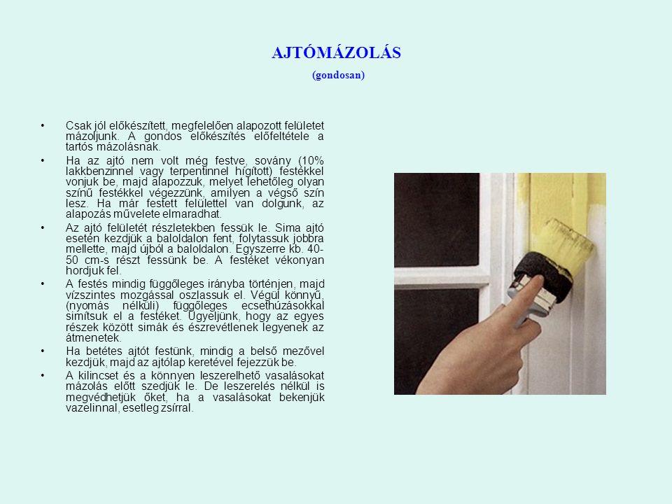 a beakasztott festék randevú macedón