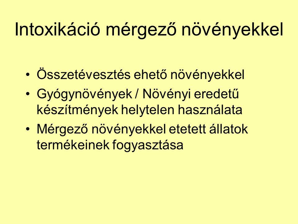 mérgező használat és adagok)