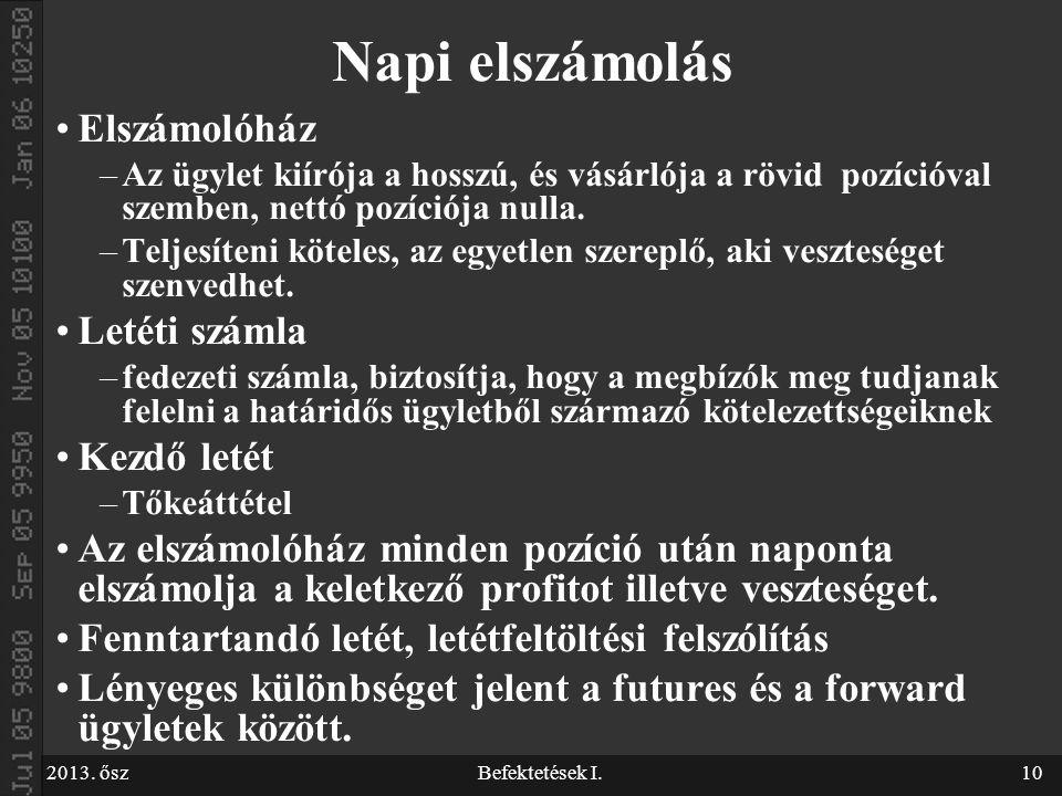részvényopciós számla)