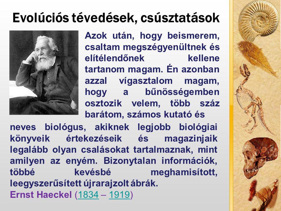 Az evolúció tévedései