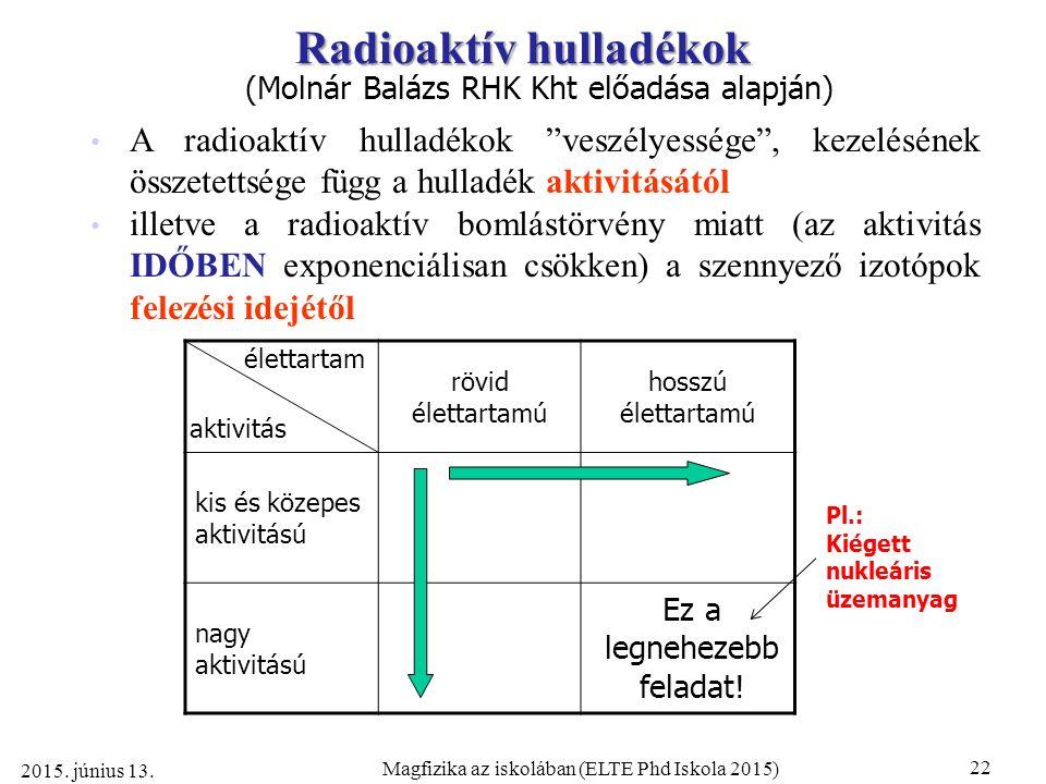 írja le a relatív és radiometrikus randevúkat