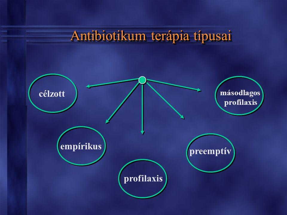 Antibiotikumok típusai prosztatitis)