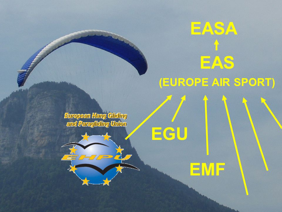 EASA EAS (EUROPE AIR SPORT) EGU EMF