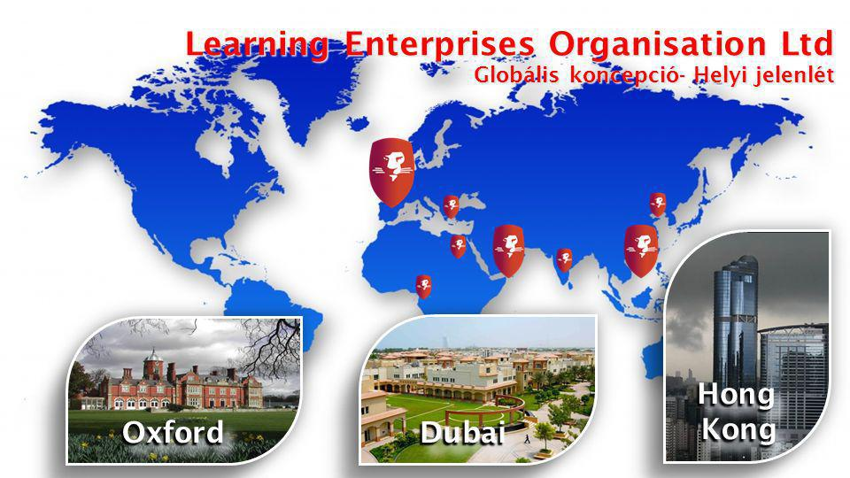 Learn – Earn – Own   All rights reserved 2013 Learning Enterprises Organisation Ltd Learning Enterprises Organisation Ltd Globális koncepció- Helyi jelenlét