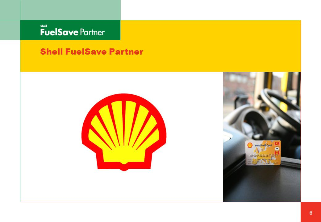 Shell FuelSave Partner 6