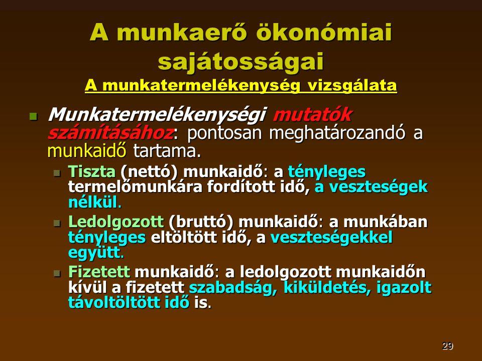 kézi munkaerő veszteség)