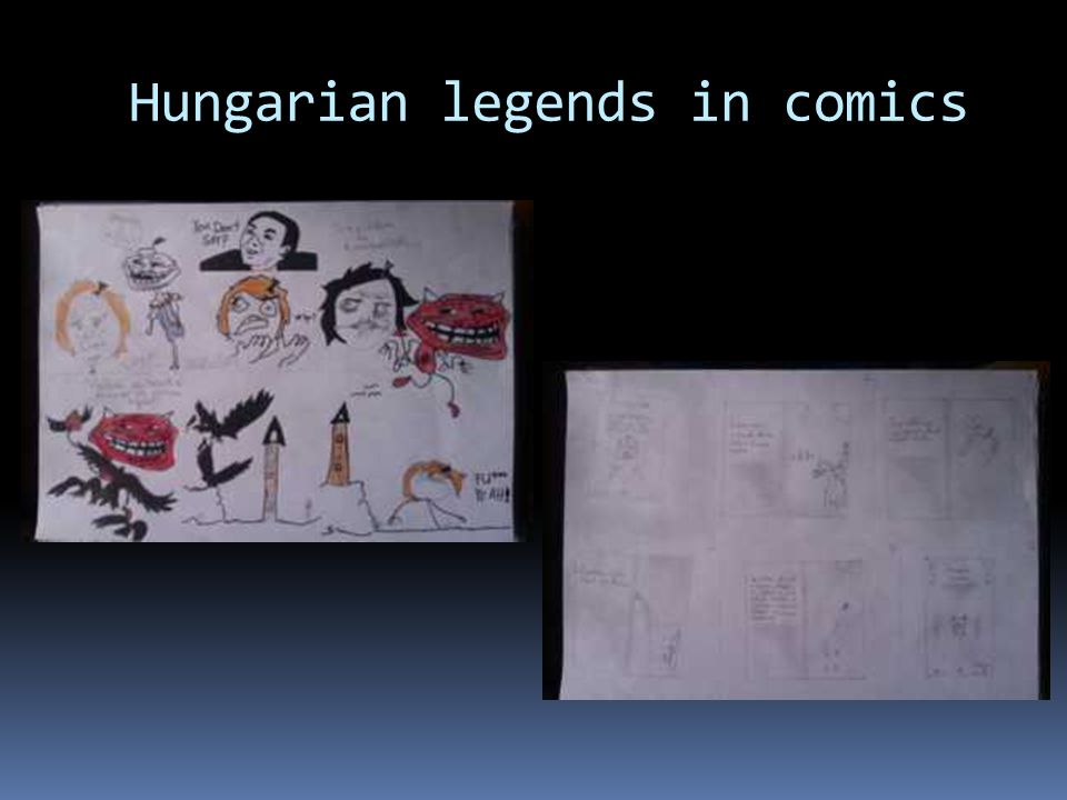 Hungarian legends in comics