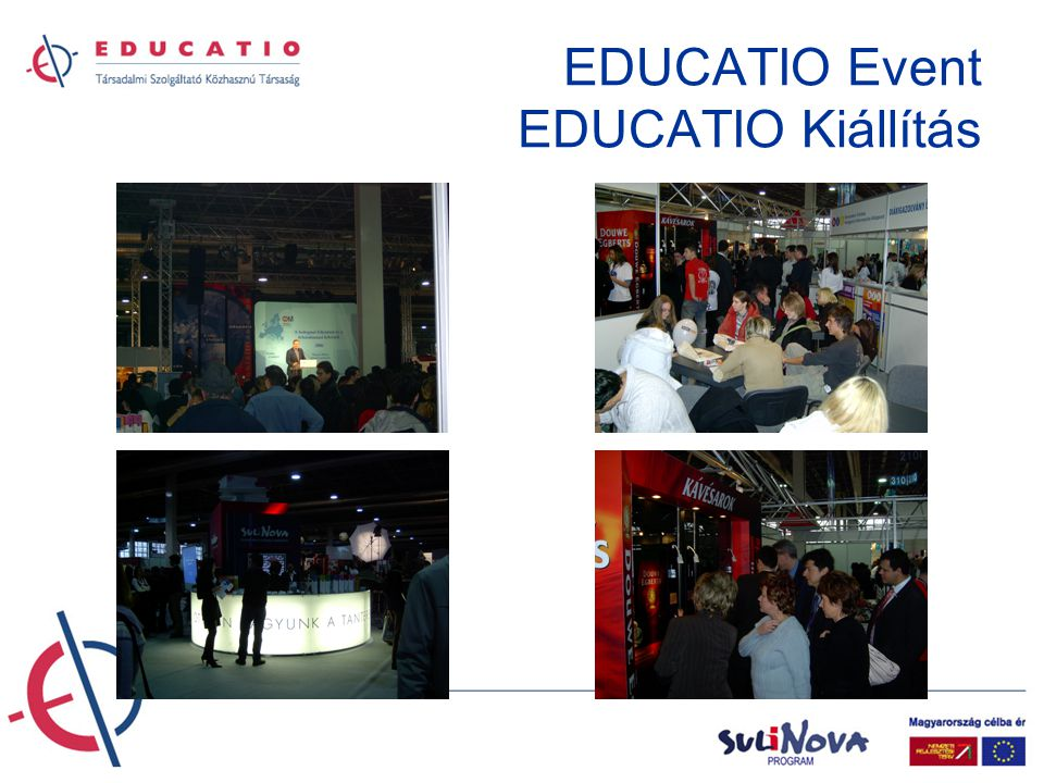 EDUCATIO Event EDUCATIO Kiállítás