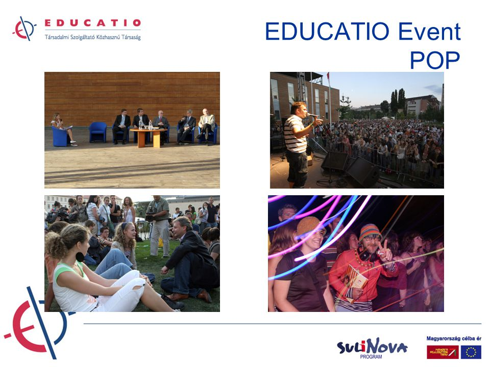 EDUCATIO Event POP