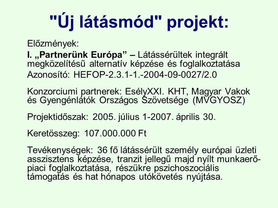 Vakok és Gyengénlátók Közép-Magyarországi Regionális Egyesülete