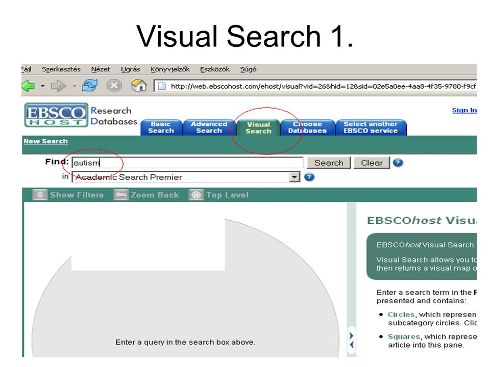 Visual Search 1.
